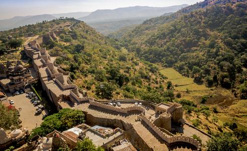 Aravalli Range, Kumbhalgarh Fort