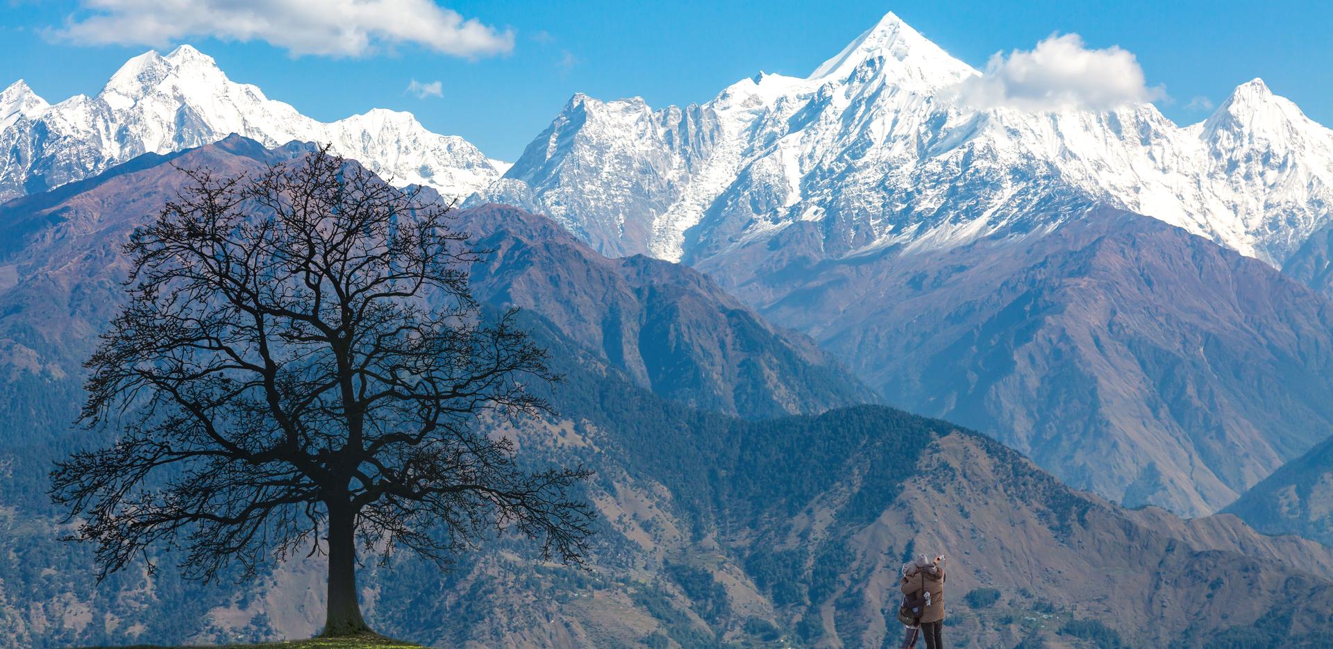 Garhwal Himalaya Mountain