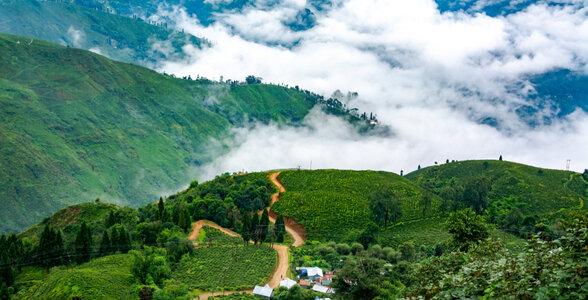 Arrival in Darjeeling