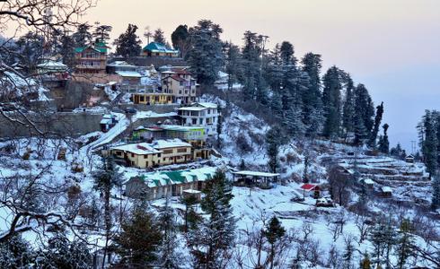 Places to Visit Nainital - Snow View