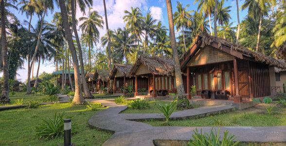 Beach resorts at Andaman and Nicobar