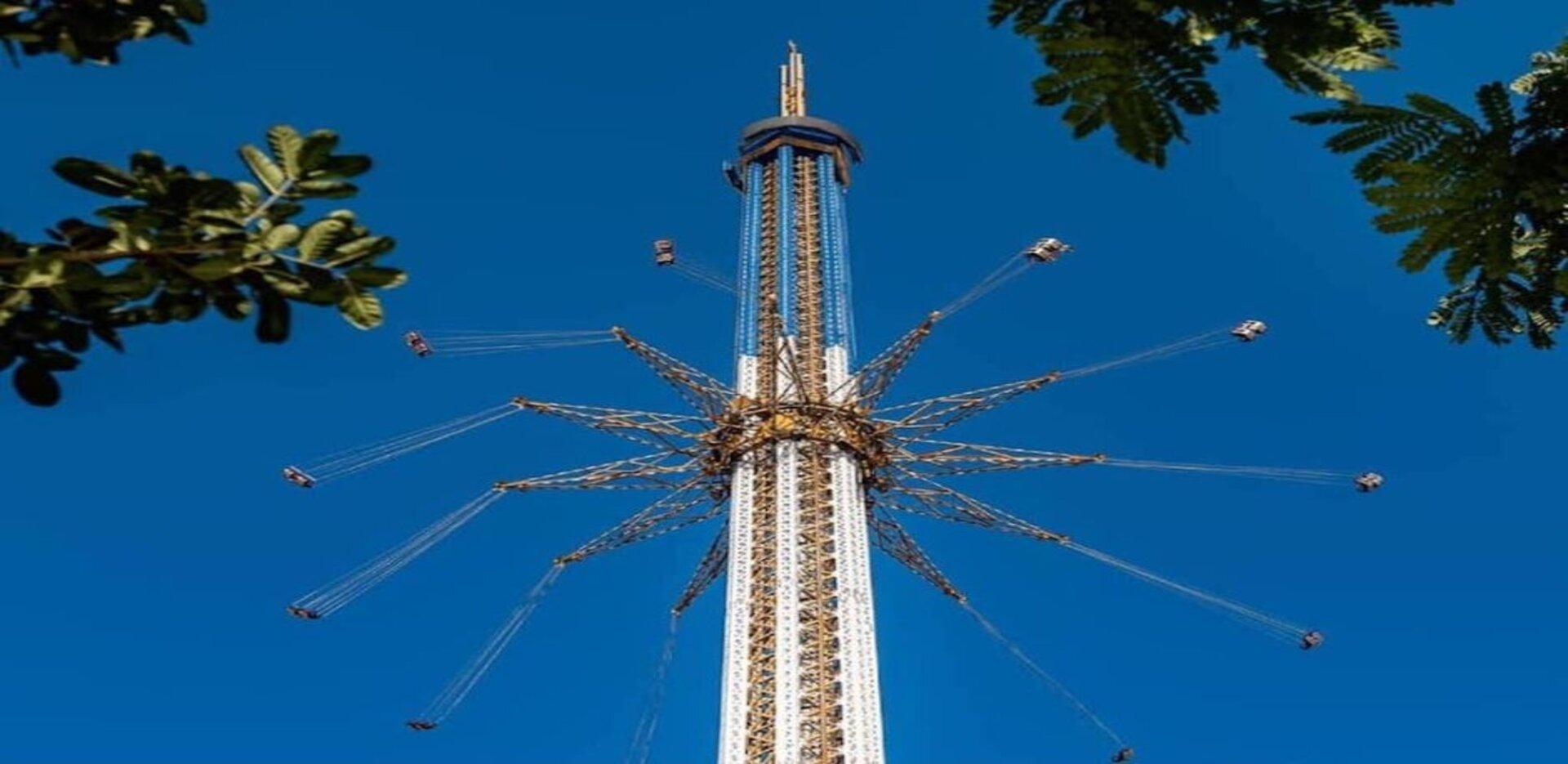 Bollywoord Skyflyer swing in Dubai