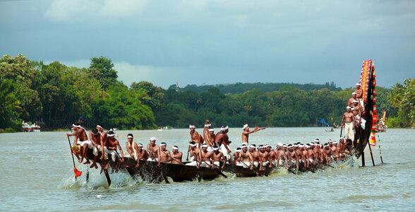 Champakulam Moolam Boat Race, Alappuzha, Kerala