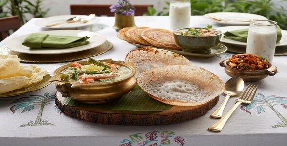 Club Mahindra Thekkady resort food