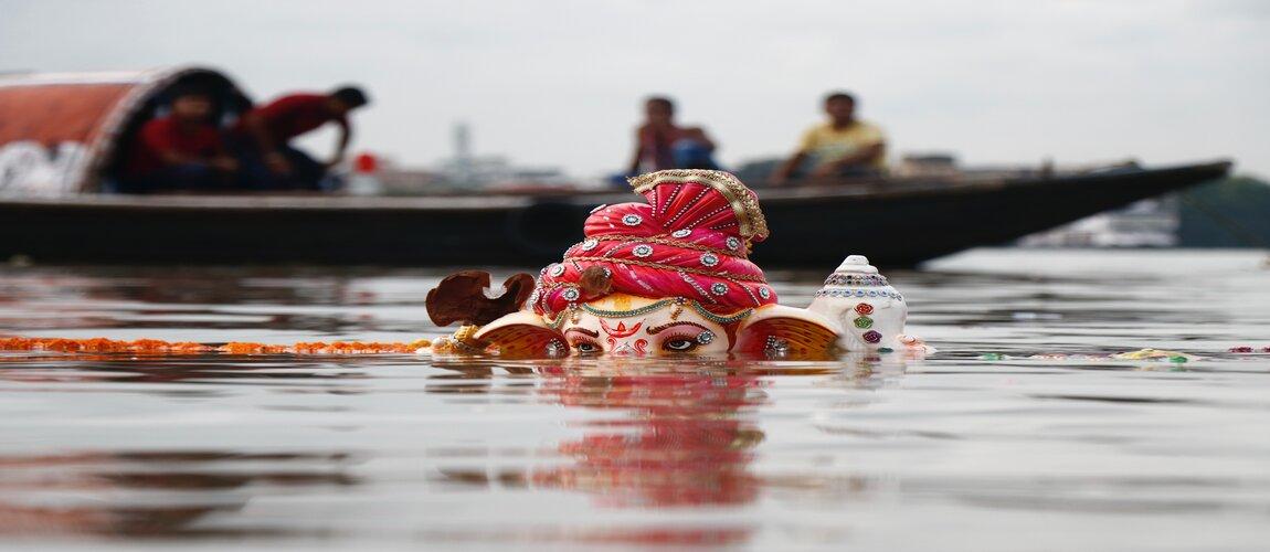 Eco-friendly Ganesh Chaturthi Celebration in India