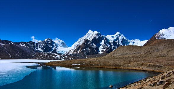 Gurudongmar Lake in Sikkim