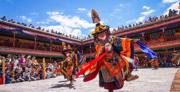 Hemis Festival, Hemis, Ladakh