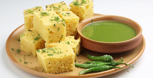 Indian Snacks - Dhokla