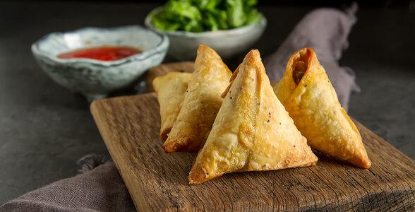 Indian Snacks - Samosa