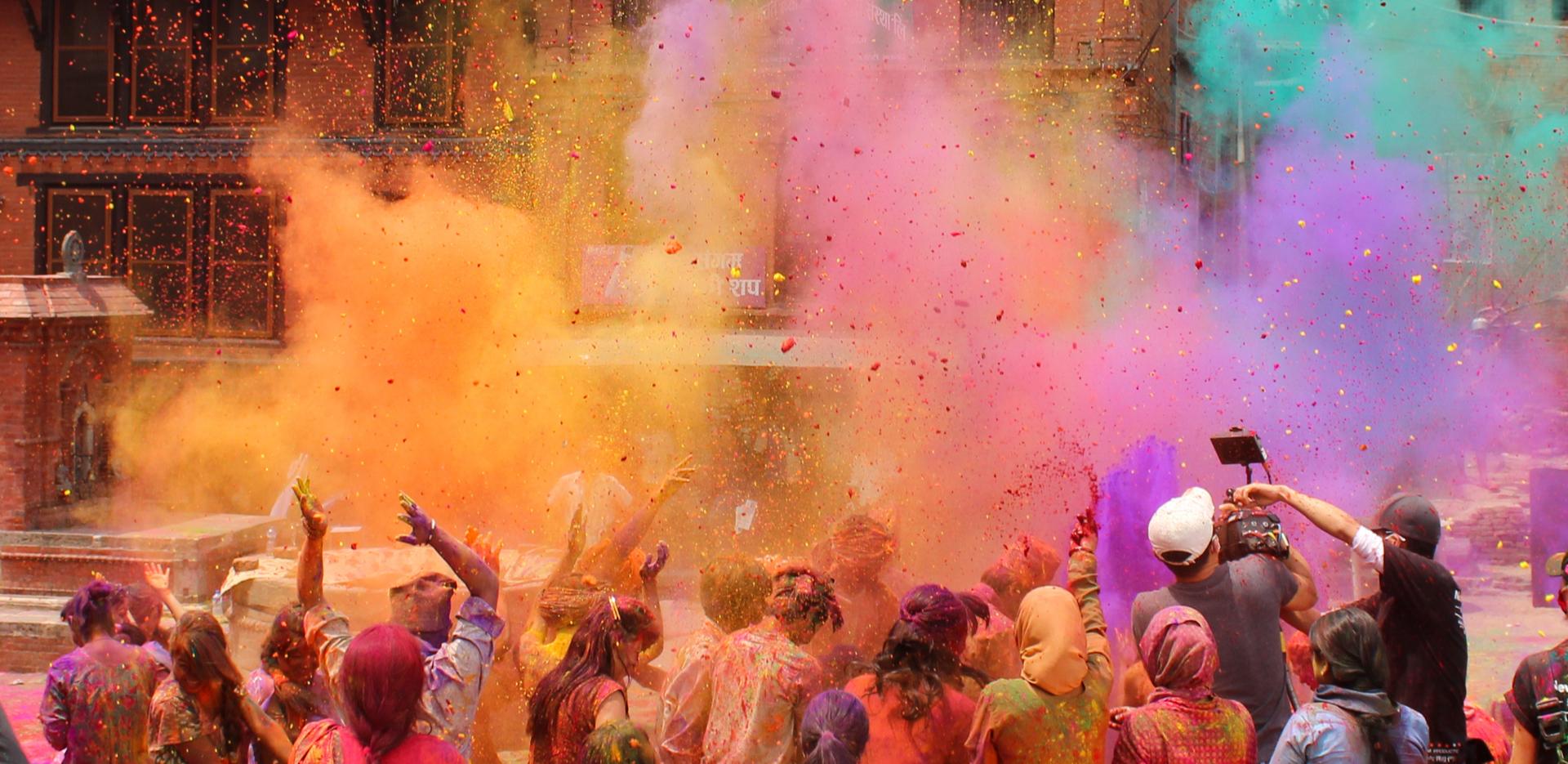 Holi Celebration with Club Mahindra
