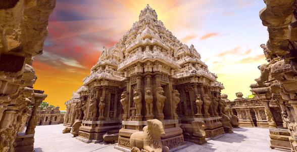 Travel Itinerary for South India - Kailasanath temple