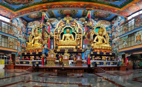 Places to Visit Madikeri - Namdroling Monastery