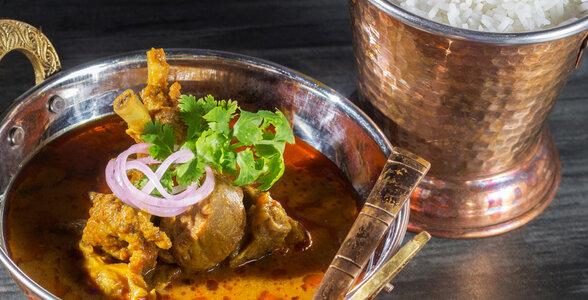 Kerala Cuisine - Appam With Ishtu
