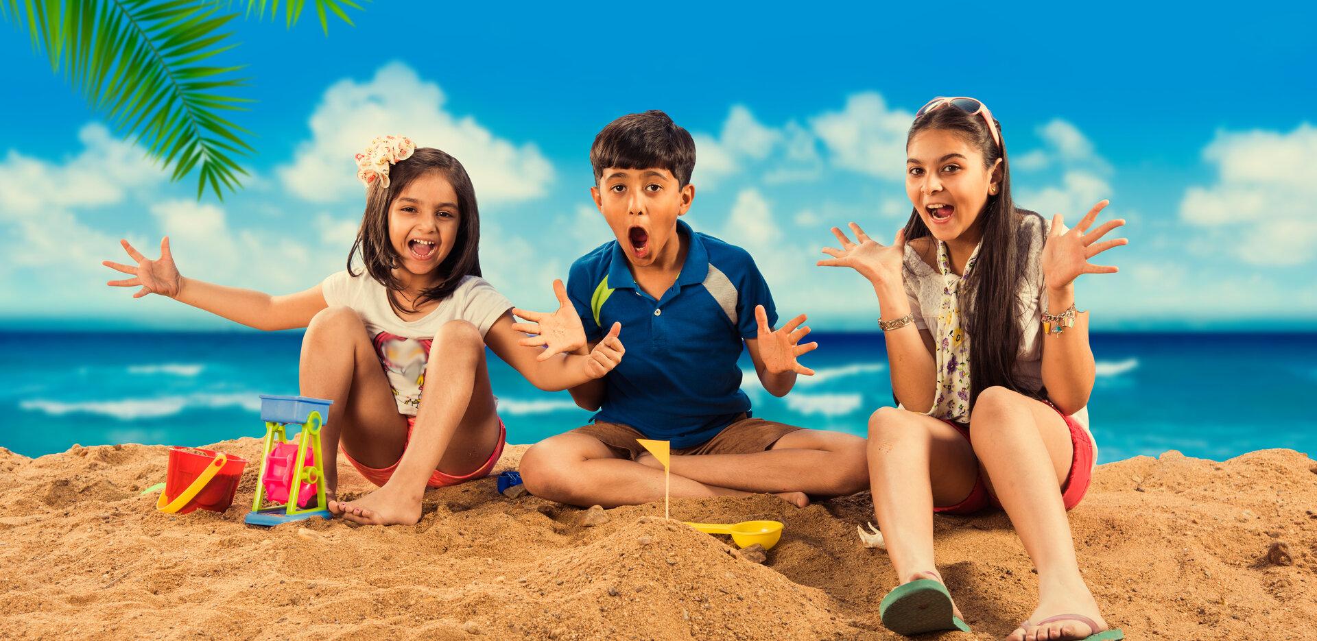 Kids at Club Mahindra Resorts