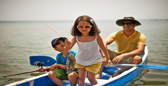 Kids Vacation Enjoy
