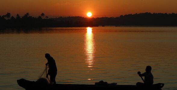 Munroe Island-local people