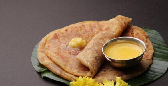 Maharashtrian Dishes - Puran Poli