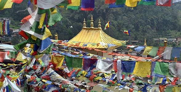 Monastery Chandmari in Gangtok