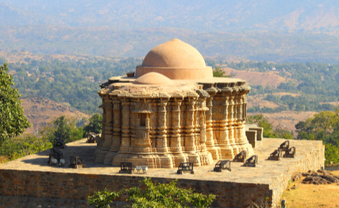 hinduism temple in kumbhalgarh fort