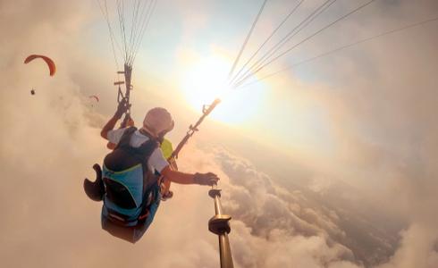 Paragliding Near Mehrangarh – Jodhpur