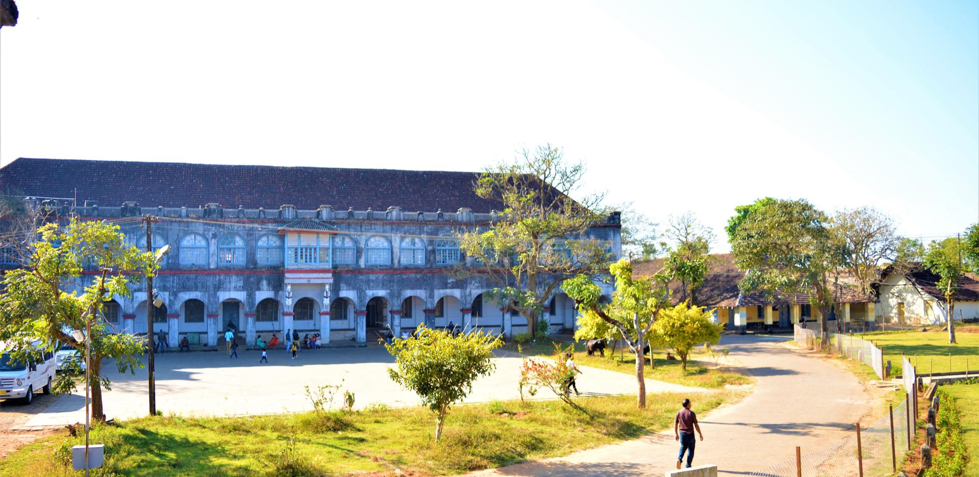 Madikeri Fort entrance in Coorg