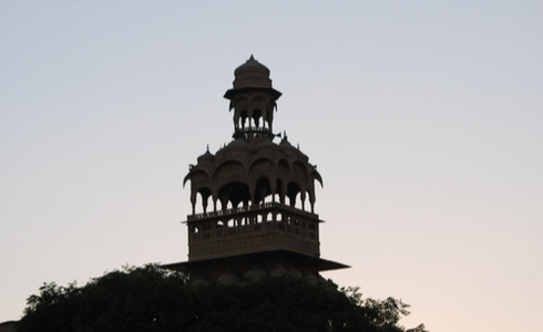 Tazia Tower in Badal Palace