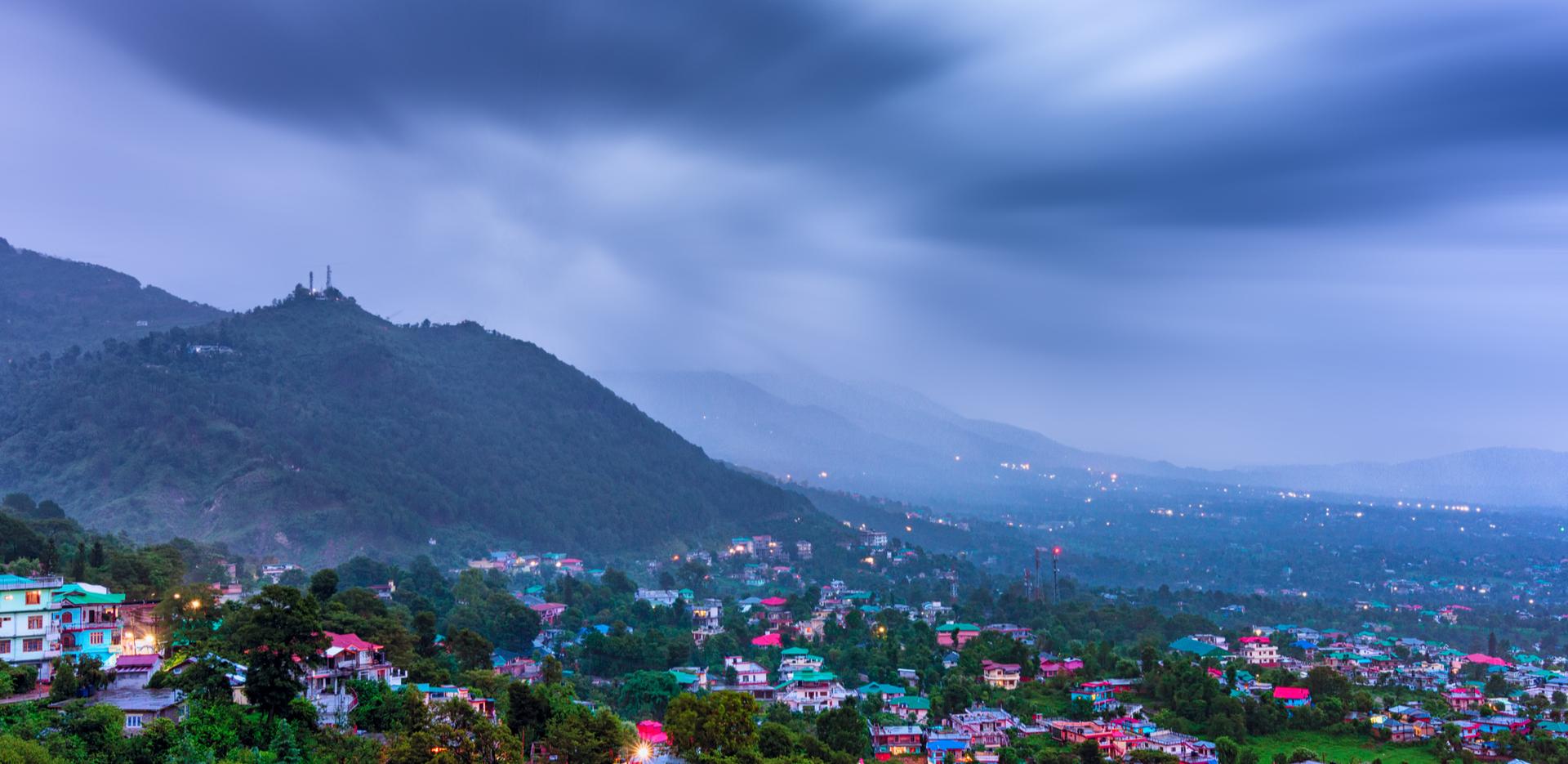 Dharamshala city