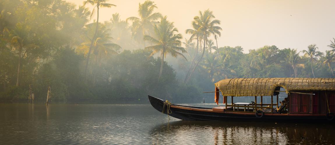 house boats in Kerala Backwaters