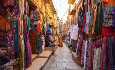 Shopping In Jaisalmer