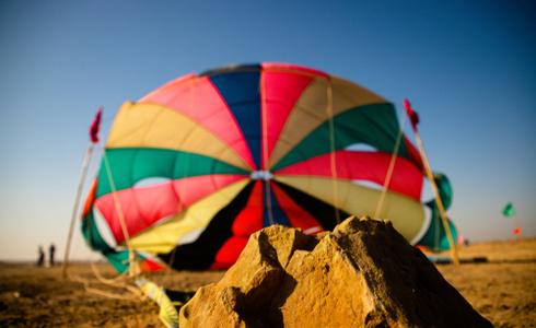 Paragliding In Jaisalmer