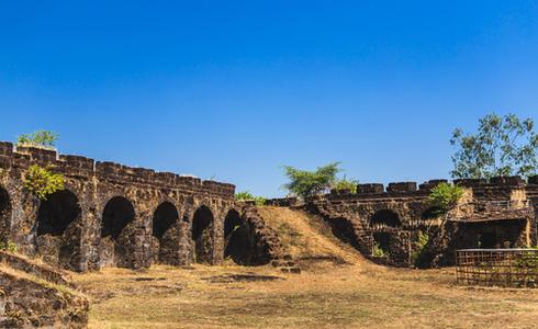 Corjuem Fort, Bardez, North Goa