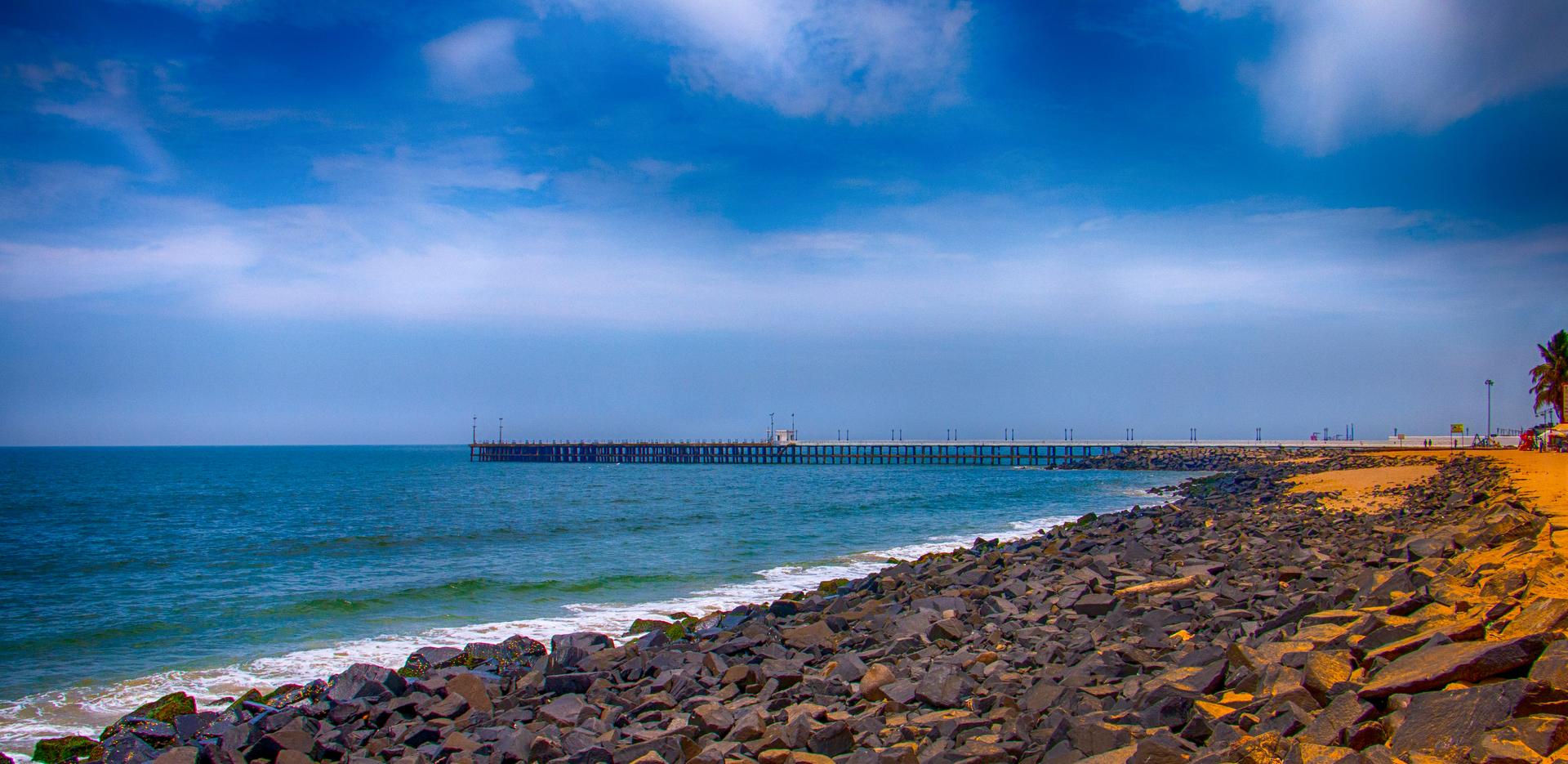 Puducherry Beach View