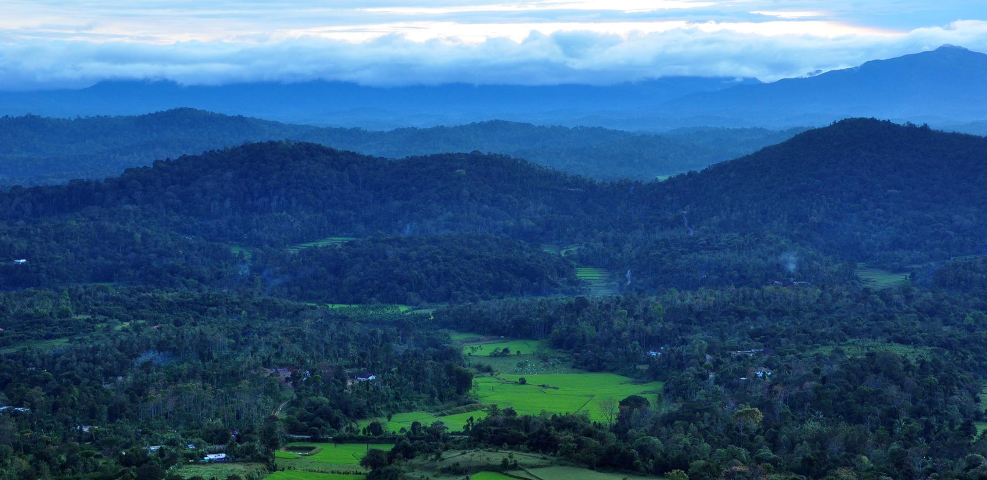 Madikeri view in Coorg
