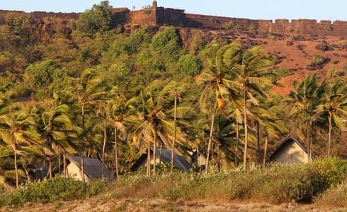 Chapora Fort, Bardez, North Goa