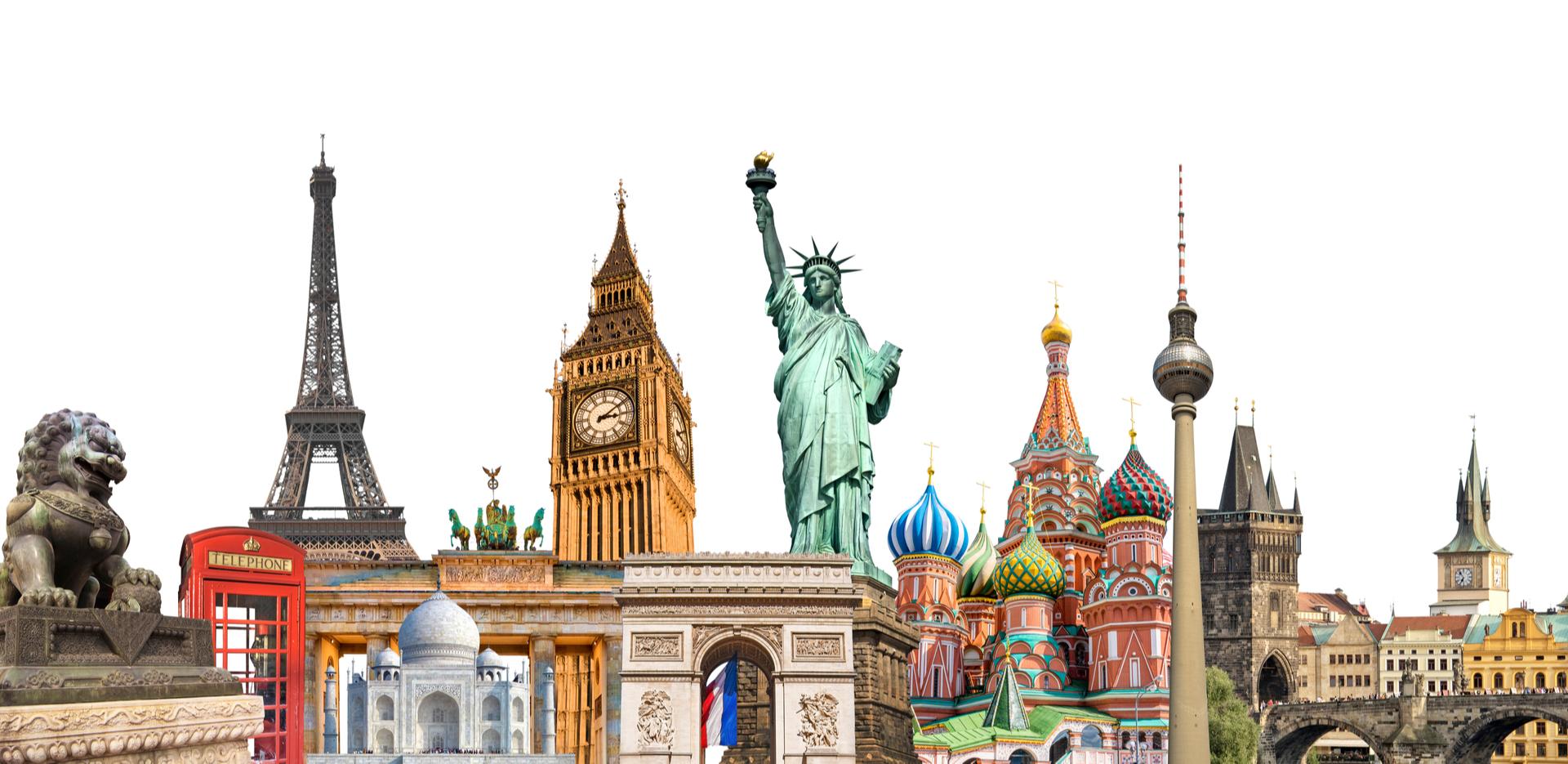 4 International Destinations