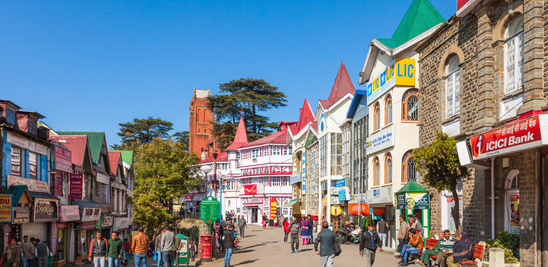 Shimla Mall Road