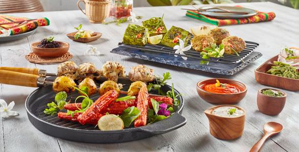 Sizzling Seekh Kebabs