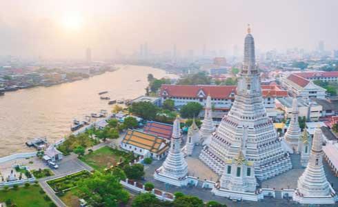 Wat Arun Temple Thailan