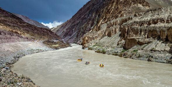 Zanskar River Rafting, Ladakh