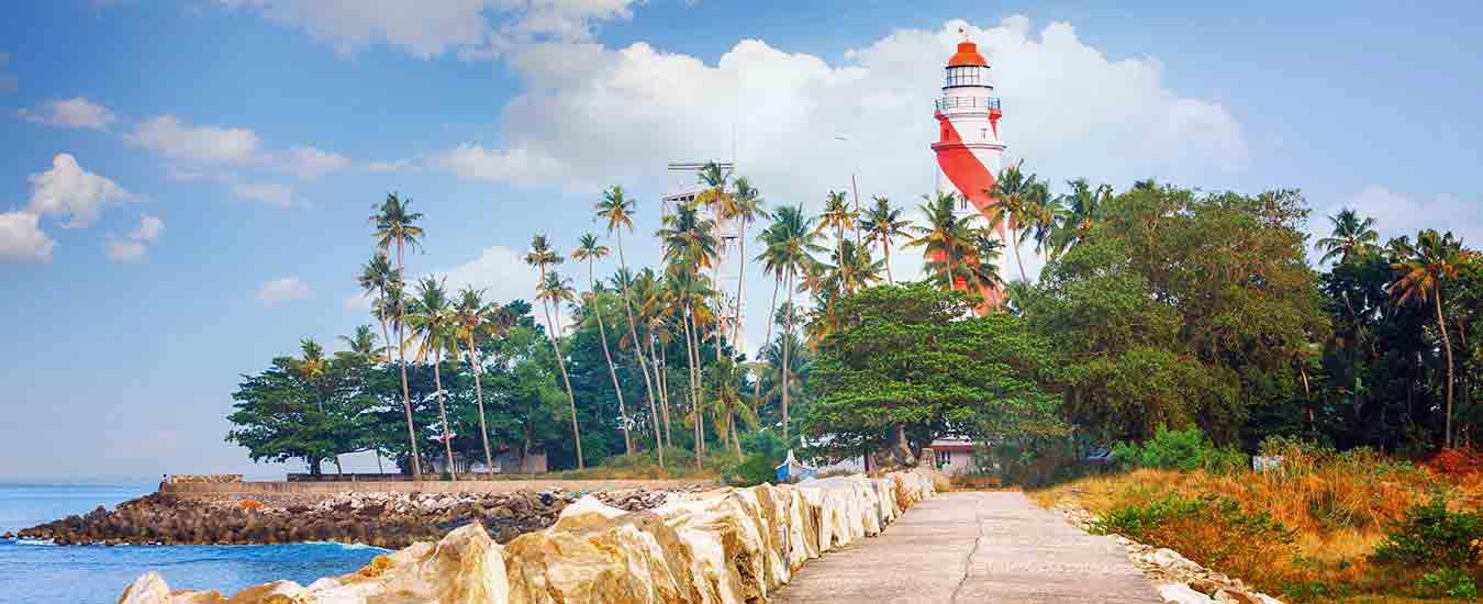 Kollam Beach Lighthouse